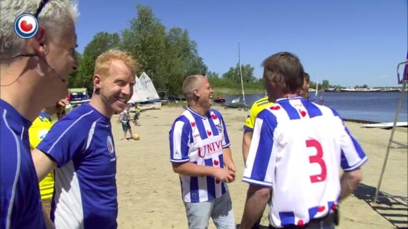 Achter de schermen: Lachen met Marten Dijk en Lubbe van Dijk bij Omrop Fryslân quiz Bynt Sport