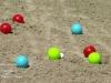 Achter de schermen: jeu de boules bij quiz Omrop Fryslân Bynt Sport