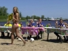 De Quiz-Miss bij Omrop Fryslân Bynt Sport