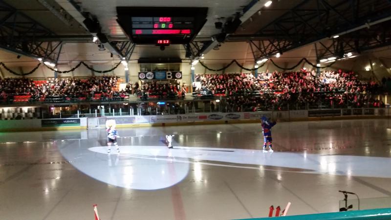 Bekerfinale ijshockey Flyers Heerenveen in Eindhoven