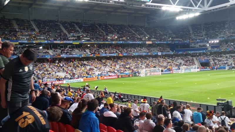 EK voetbal 2016: Duitsland - Oekraine