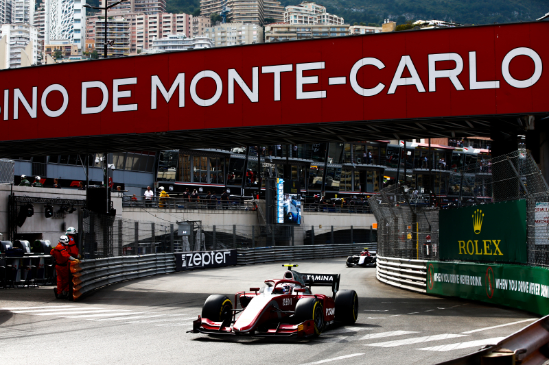 FIA Formula 2 Series - Round 4. Monte Carlo, Monaco. Saturday 26 May 2018. Nyck De Vries (NLD, PERTAMINA PREMA Theodore Racing). World Copyright: Andy Hone / FIA Formula 2. ref: Digital Image