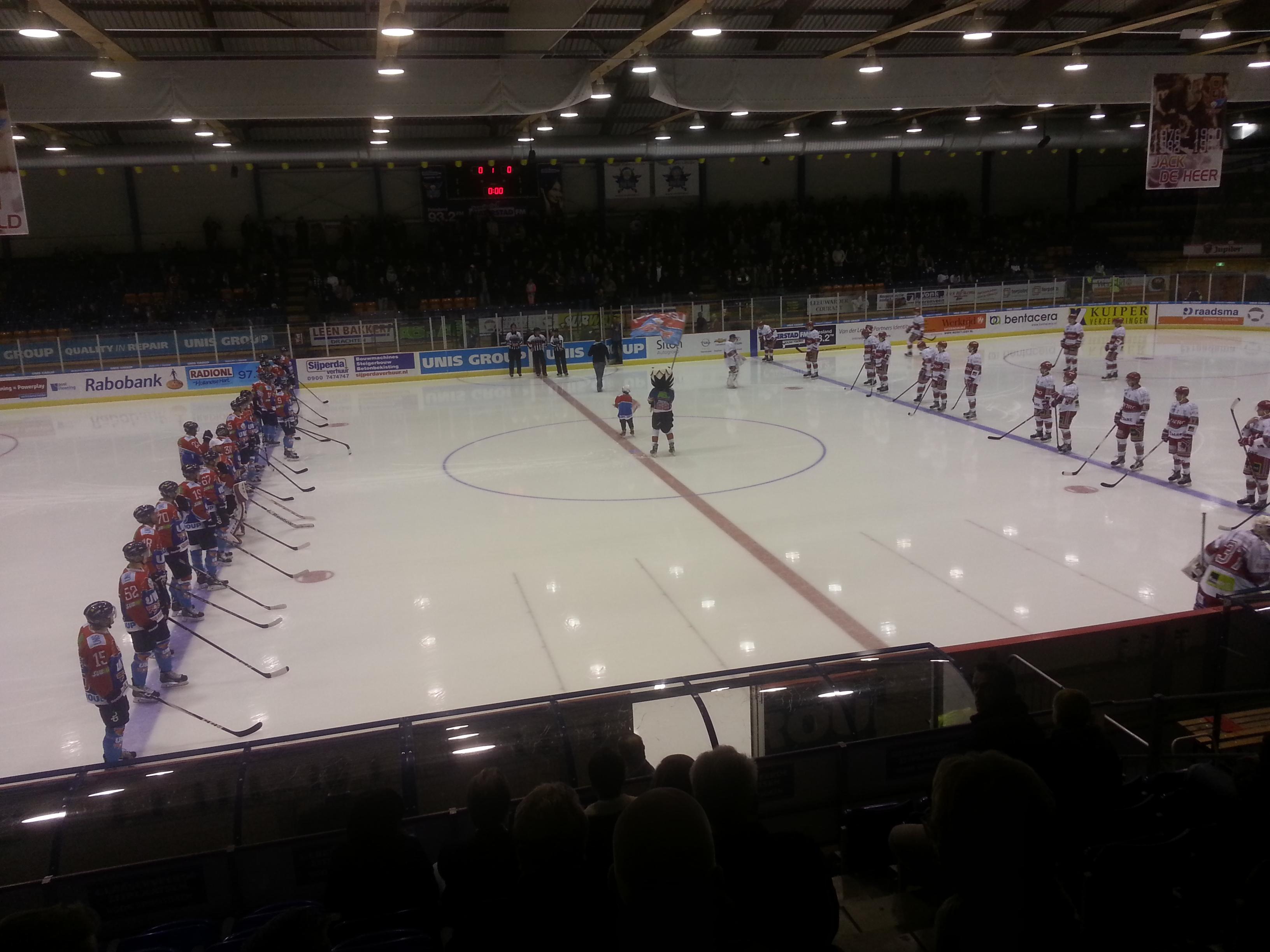 IJshockey Flyers in Heerenveen 1