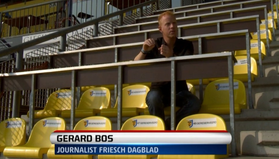Opnames documentaire SC Cambuur