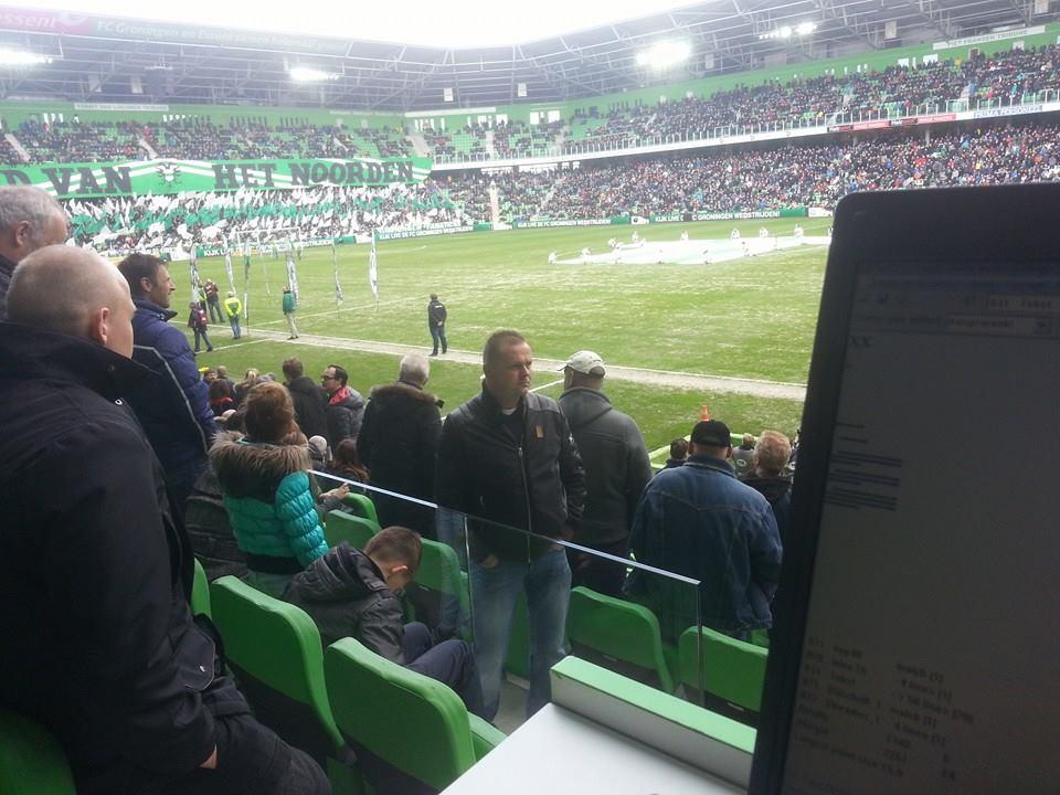 Werken bij FC Groningen - Cambuur 2014