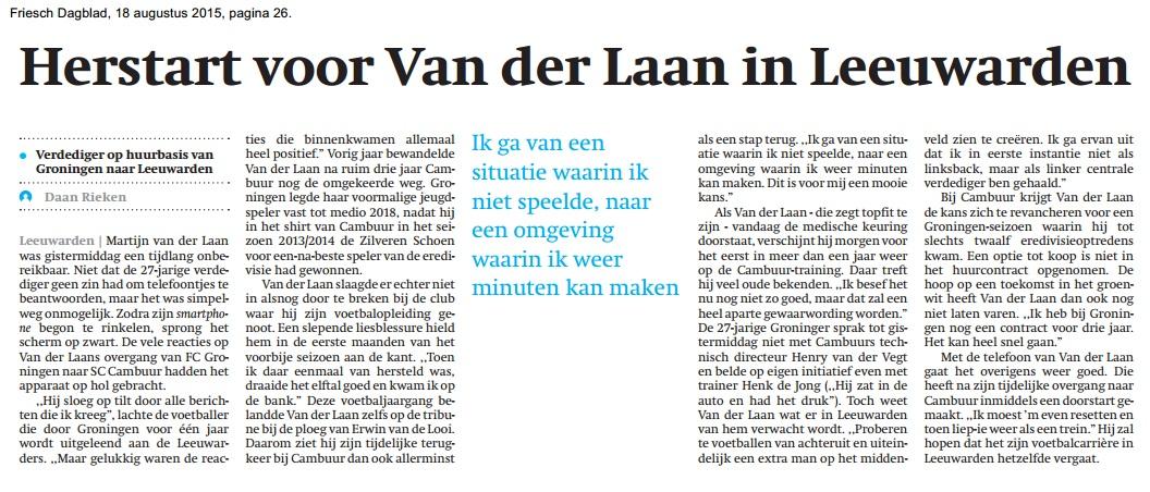 blog fd verhaal Daan over Martijn vd Laan