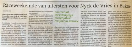 LC screenshot -foto- verhaal Nyck de Vries in krant 24 jun 17