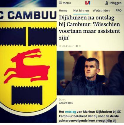 BLOG Dijkhuizen VI Cambuur ontslag 28 nov 2017