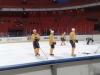 Practice St. Louis Blues NHL Premiere 2009 Stockholm - sportjournalist Gerard Bos