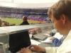 SC Heerenveen - FC Twente, KNVB beker, finale 17 mei 2009 2 sportjournalist Edward Jorna